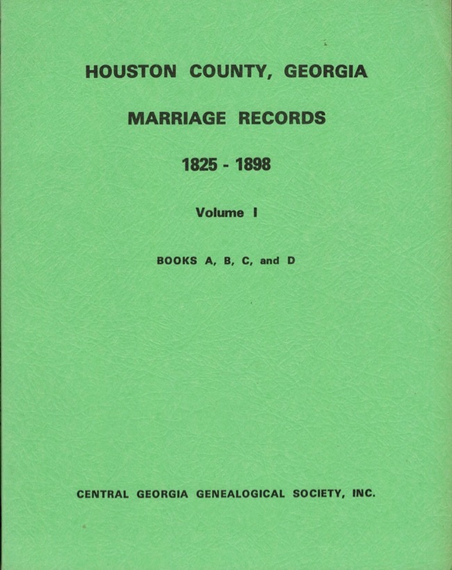 marriage records for houston county ga