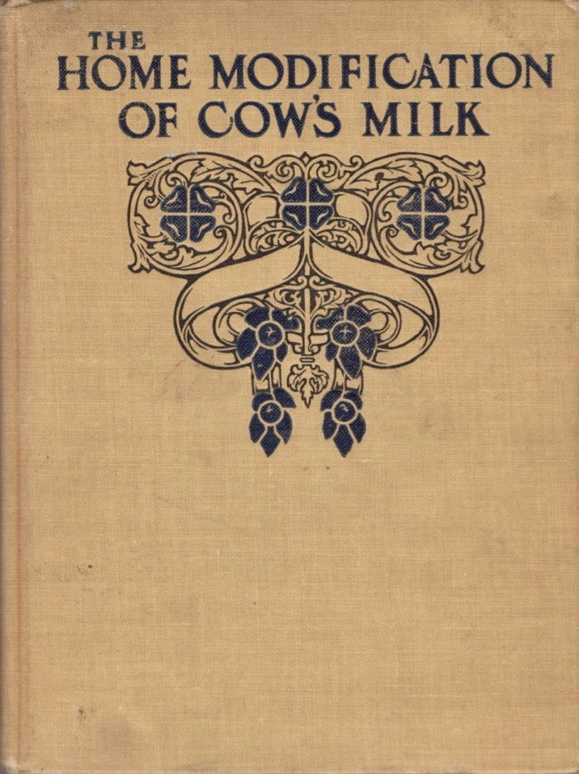 The Home Modification of Cow's Milk. Mellin's Food Company.