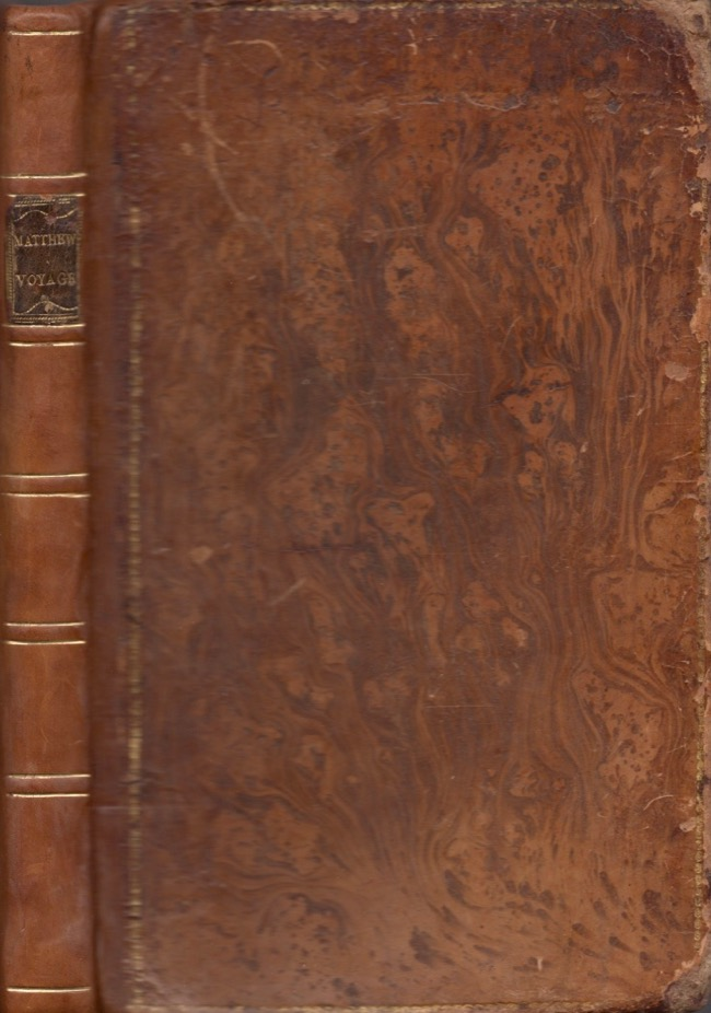 A Voyage to the River Sierra-Leone, On the Coast of Africa; Containing An Account of the Trade and Productions of the Country, And of The Civil and Religious Customs of the People; In A Series of Letters To A Friend in England. John Matthews.