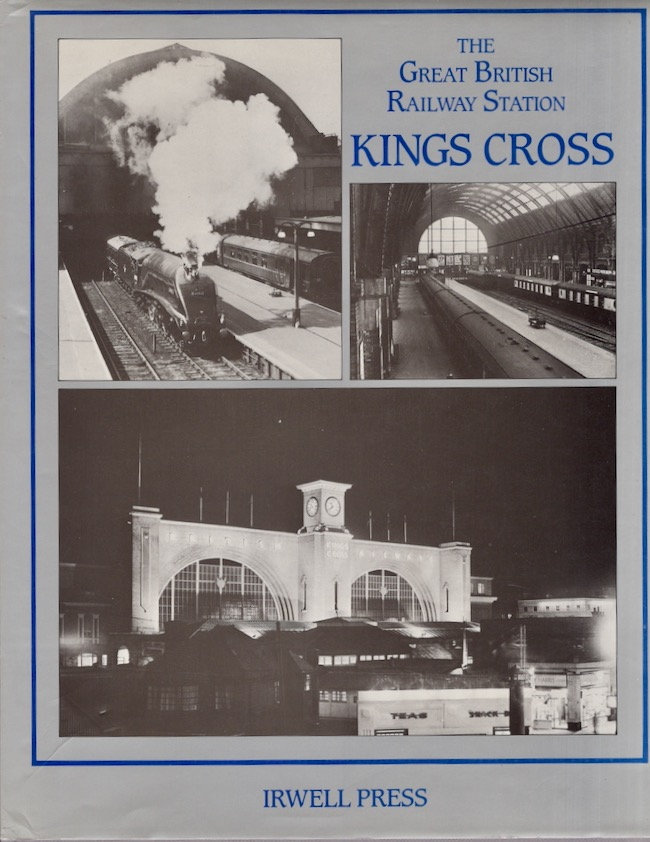 The Great British Railway Station Kings Cross. Chris Hawkins.