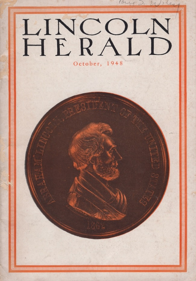 Lincoln Herald October 1948. R. Gerald McMurtry, -in-Chief.