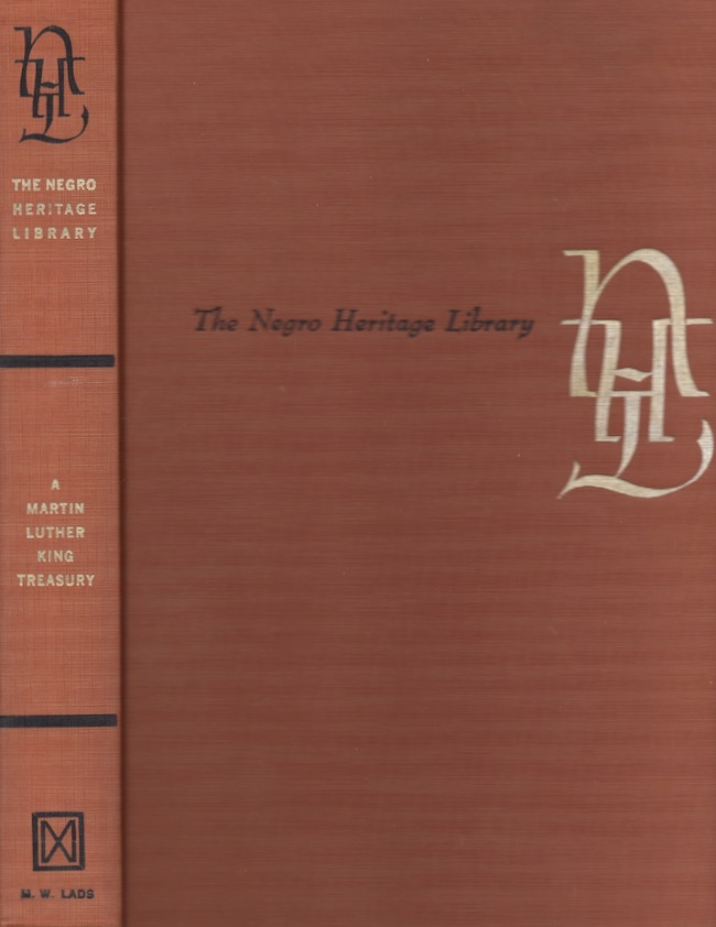 A Martin Luther King Treasury. Negro Heritage Library. Martin Luther Jr King.