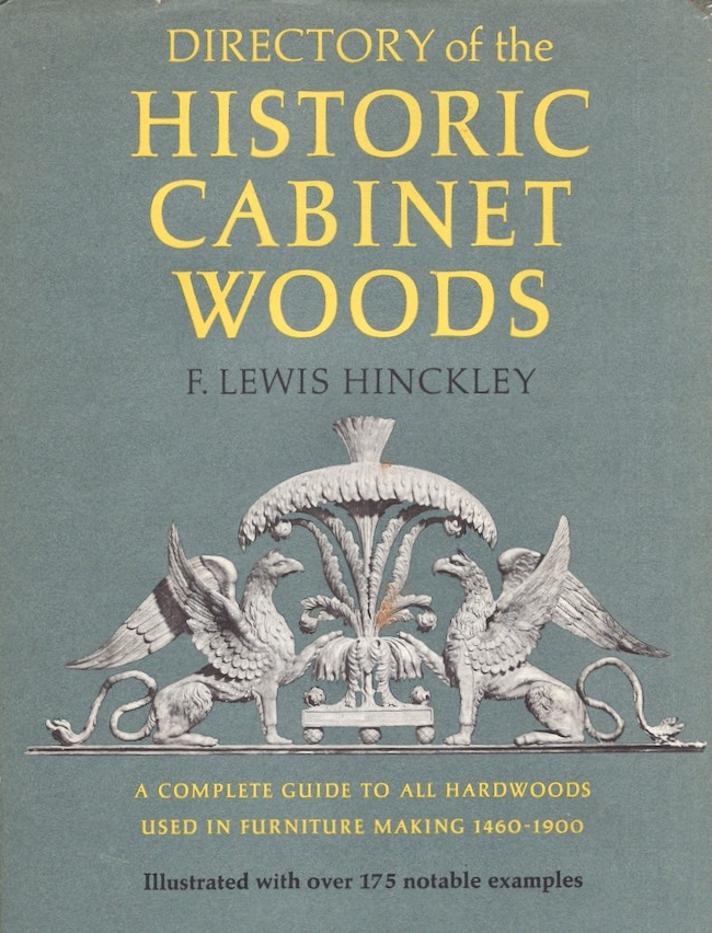 Directory of the Historic Cabinet Woods. F. Lewis Hinckley.