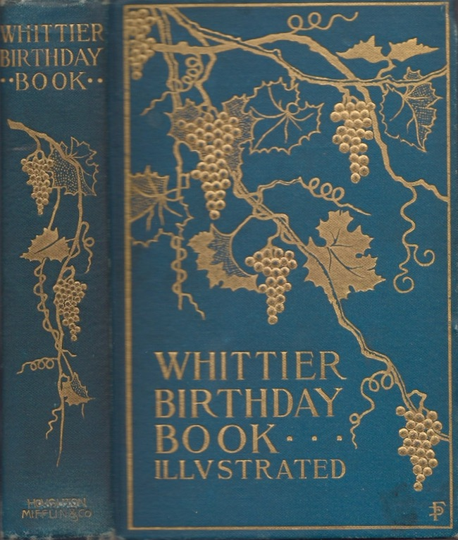 Whittier Birthday Book. Elizabeth S. Owen.