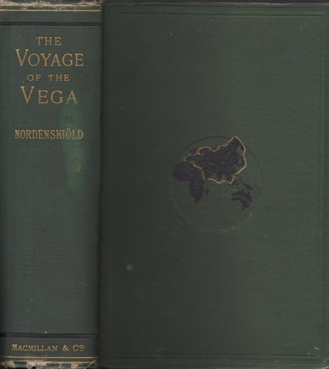 The Voyage of the Vega Round Asia and Europe With A Historical Review of Previous Journeys Along the North Coast of the Old World. A. E. Nordenskiold, Alexander Leslie.