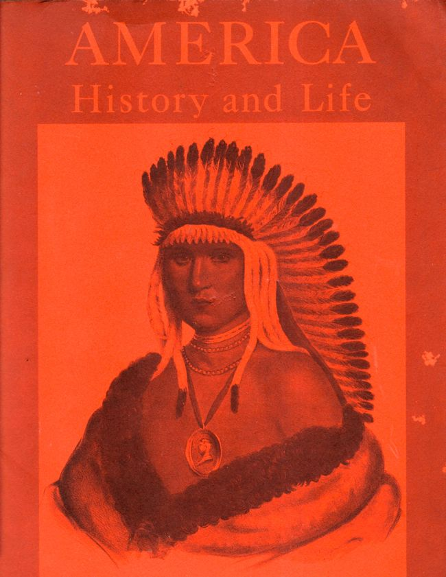 America History and Life Volume 1 Number 1 July 1964. Eric H. Boehm.
