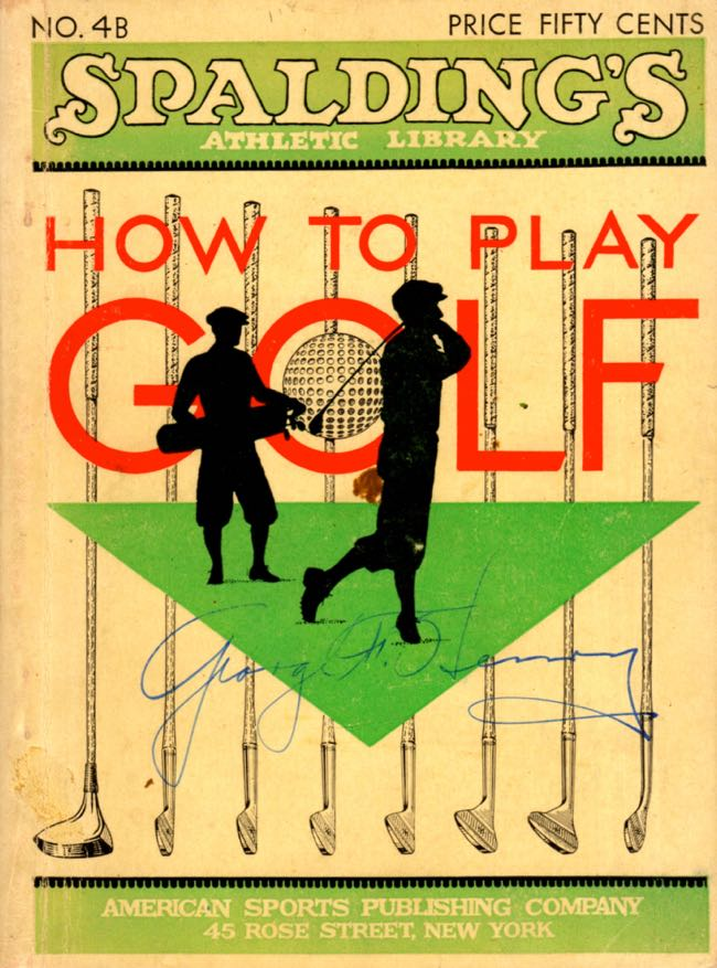 How To Play Golf. Innis Brown.