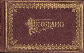 Connecticut Autograph Book 1877-1883. Alice May Gruemann?