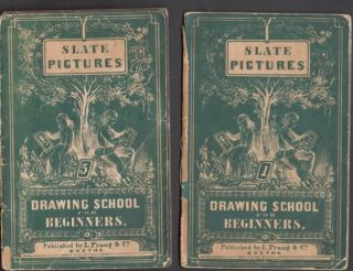 Slate Pictures: Drawing School for Beginners. L. C. Prang, Co
