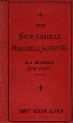 Legal Directory of the North American Mercantile Agency Company January, 1900. North American...