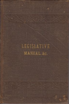Manual of the General Assembly 1882. [AND] The Constitution of Georgia, As Adopted December 5th, 1877, With A Copious Analytical Index and Full Marginal Notes. Thos. J. Chappell, Henry R. Goetchius, of the Columbus Bar.