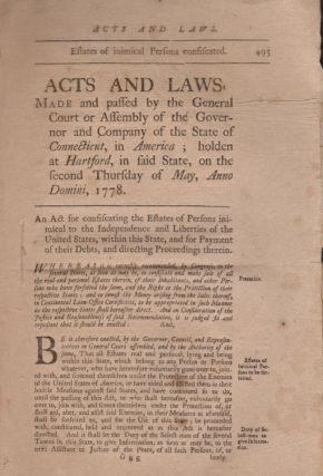 Acts and Laws, Made and Passed by the General Court or Assembly of the Governor and Company of...