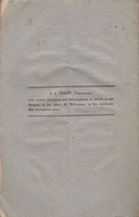 The First Annual Report of the Managers of the New York Protestant Episcopal City Mission Society: Presented at the Annual Meeting of the Society, Thursday, Jan. 12, 1832