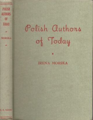 Polish Authors of Today. Irena Morska