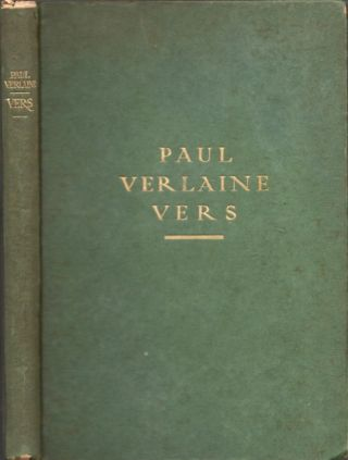 Paul Verlaine Vers. Paul Verlaine, Georges A. Tournoux