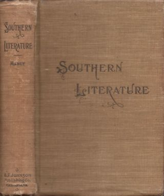 Southern Literature From 1579-1895. Louise Manly