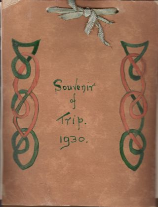 Homemade Album: Souvenir of Trip 1930 to America. Anon