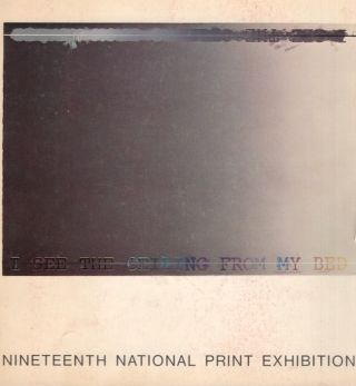 Nineteenth National Print Exhibition. Brooklyn Museum
