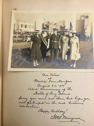 Happy Eightieth Birthday to Minnette G. Mills Dick from Sally and Anne: 1940 Daughters of the American Revolution (DAR) Tribute to Mrs. Frank Madison Dick on her 80th birthday.