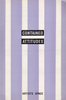 Contained Attitudes. Saskia Bos, Chris Dercon