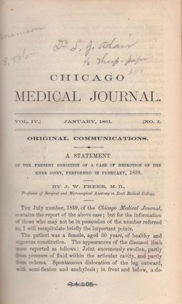 The Chicago Medical Journal.