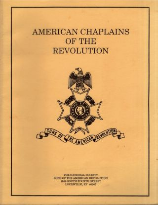 American Chaplains of the Revolution. C. Rogers McLane Rev