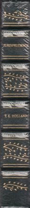 The Elements of Jurisprudence. Thomas Erskine Holland