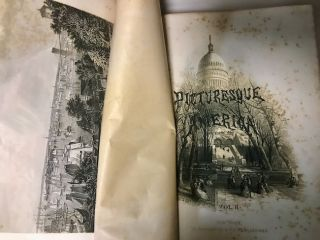 Picturesque America. The Land We Live In. A Delineation by Pen and Pencil of The Mountains, Rivers, Lakes, Forests, Water-Falls, Shores, Canons, Valleys, Cities, and Other Picturesque Features of Our Country