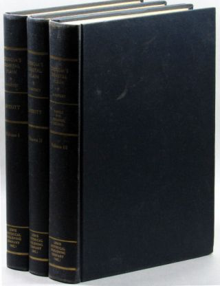 Georgia's Coastal Plain (3 volumes). Jack N. Averitt