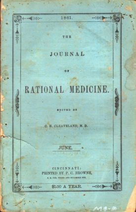 The Journal of Rational Medicine. C. H. M. D. Cleaveland