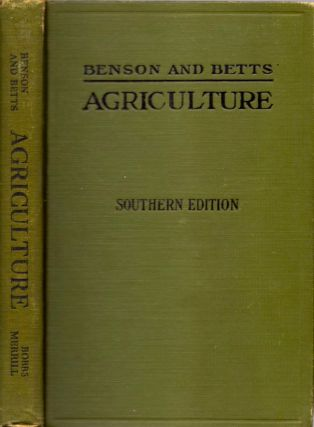 Agriculture Southern Edition. O. H. Benson, George Herbert Betts