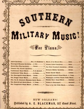 Washington Artillery polka march; arranged by A. E. Blackmar. A. E. Blackmar