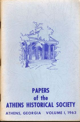 Papers of the Athens Historical Society. Athens Historical Society