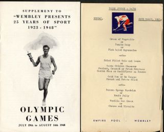 Wembley presents 25 Years of Sport 1923-1948